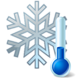 Thermometer snowflake