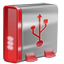 USB red Icon