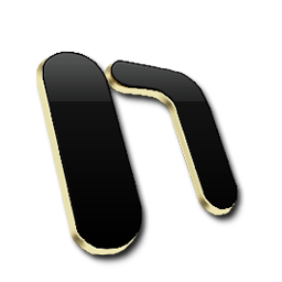 Microsoft One Note Black and Gold