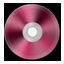 Dark Pink Metallic CD icon
