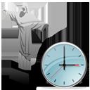 Christ the Redeemer Clock-128
