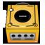 Gamecube orange Icon