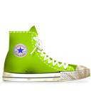 Converse Lime dirty-128