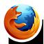 Round Firefox-64