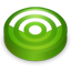 Rss green circle Icon