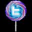 Twitter lollipop alt Icon