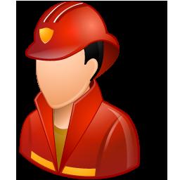 Firefighter Male Light
