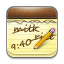 Notes iPhone icon