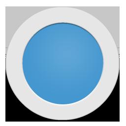 Light Blue Circle