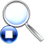 Stop Search icon