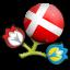 Euro 2012 Denmark Icon