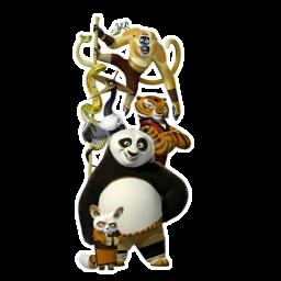 Kung Fu Panda Team Icon Download Kung Fu Panda Icons Iconspedia