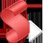 Red Script Icon