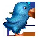 Plush Twitter Bird-128
