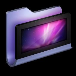 Desktop Blue Folder