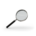 Magnifying glass-128