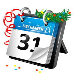 New Year Calendar Icon | Download Plastic New Year icons ...