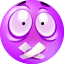 Shut Up purple Icon