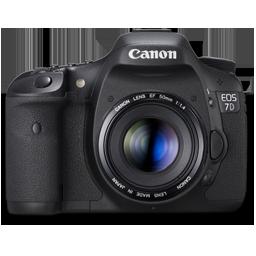 Canon 7D front