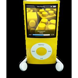Yellow iPod Nano