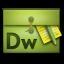 Dreamweaver Folio Icon