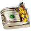 Burning Money icon