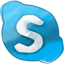Skype hand drawned Icon