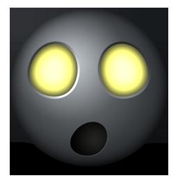 Radioactive emoticon