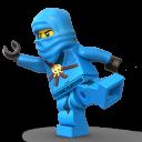 Lego Ninja Blue-128
