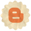 Retro Blogger Icon