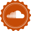 Soundcloud Vintage icon