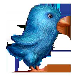 Plush Twitter Bird