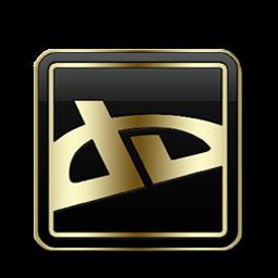 DeviantArt Black and Gold