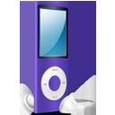 iPod Nano purple on-128