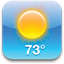 iPhone Weather icon