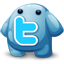 Twitter creatures icon