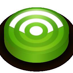 Rss green circle