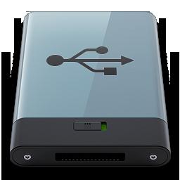 HDD Graphite USB B