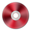 Dark Red Metallic CD Icon