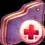 Backup Violet Folder icon