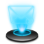 E-mail Hologram icon