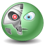 Terminator emoticon icon