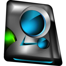 Monitor blue