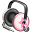 Pinkstar Power headphones icon