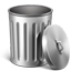 Metal Trash Empty icon