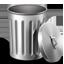 Metal Trash Empty-64