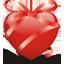 Ribbon heart-64