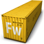 Fireworks Container Icon