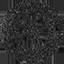 MySpace black stamp icon