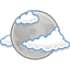 Gnome Weather Few Clouds Night icon
